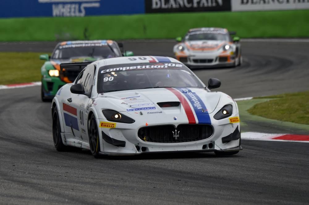 Anselmi-Sernagiotto, Villorba Corse, Maserati GranTurismo MC GT4 - Race 1
