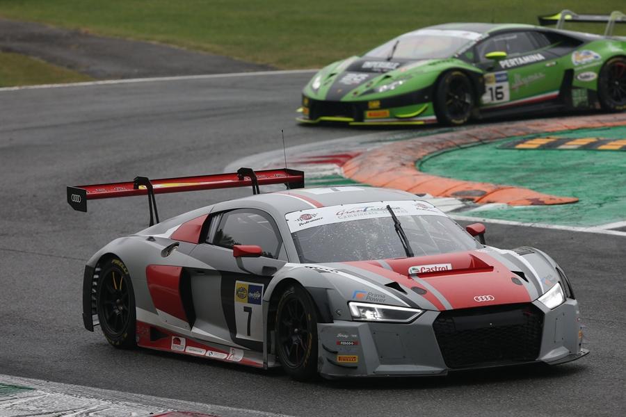 Bar Baruch e Mattia Drudi, Audi R8 LMS