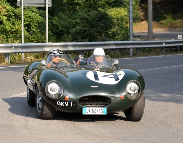 Berardi-Taglia su Jaguar D Type