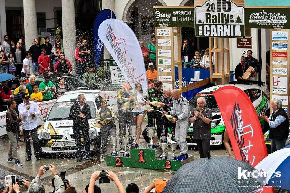 Carnia 2016, podio 2 (Kronosphotos)