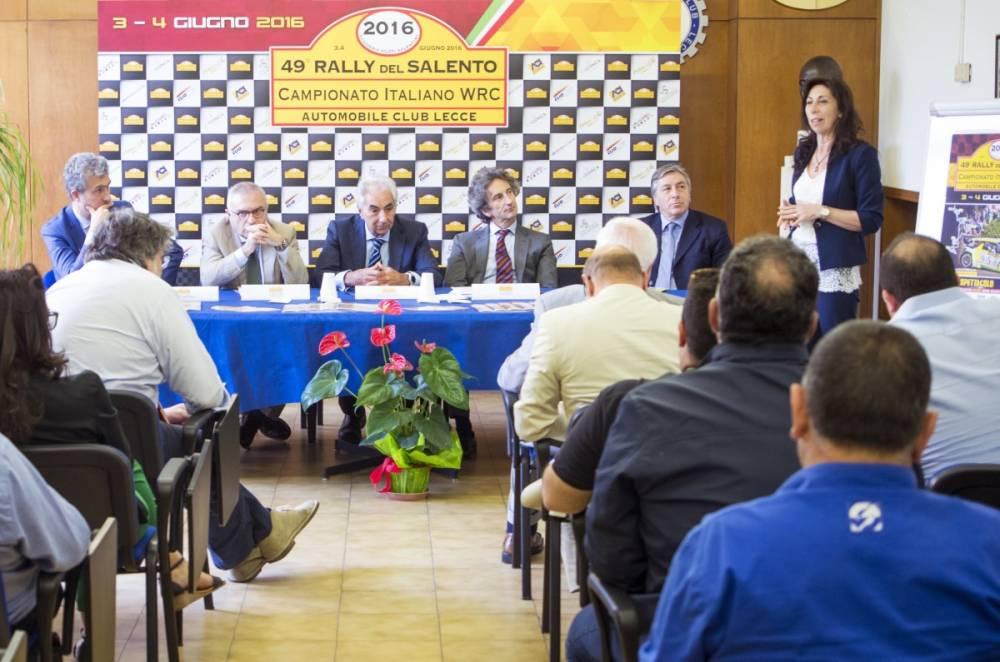 Conferenza di Presentazione 49°Rally del Salento