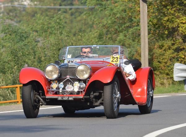 Dall´Agata-Lontani su Jaguar SS 100