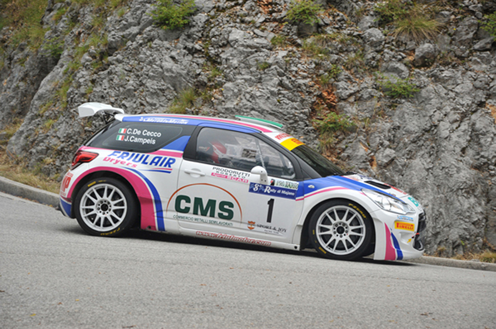 De Cecco_Campeis vincitori RallyMajano 2015