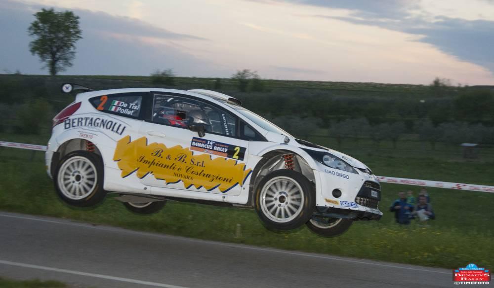De Tisi-Pollet Vincitori 14° Benacvs Rally su Ford Fiesta S2000