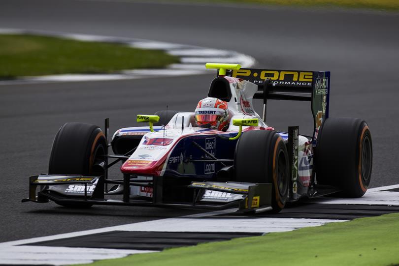 Gp2 Series Luca Ghiotto Silverstone 2016