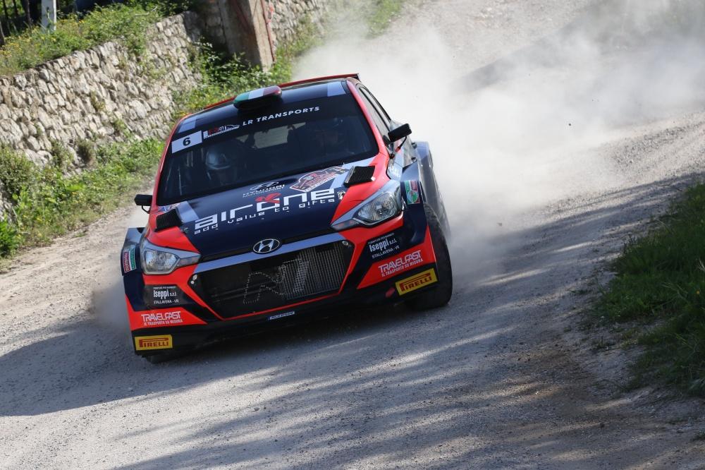 Hoelbling-Fiorini Hyundai i20 NG Vincitori del Rally della Valpolicella 2021