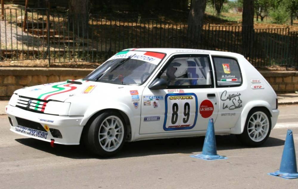 Modesto Sollima (Peugeot 205 Rallye)