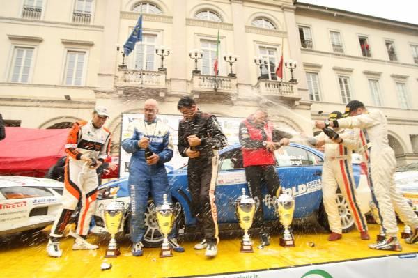 podio rally race 2013