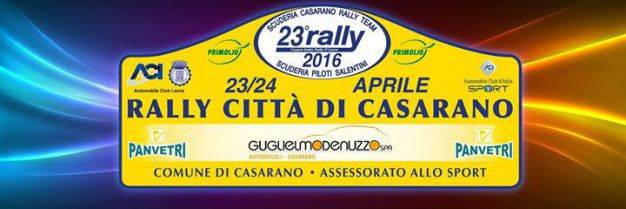 RALLY CASARANO 2016
