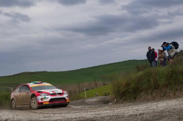 Romagna-Lamonato Ford Focus WRC
