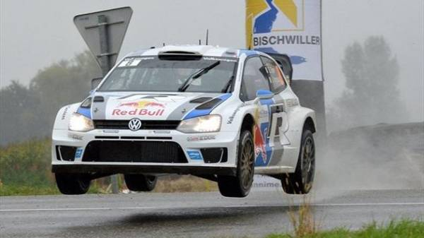 seb ogier - rally di francia wrc