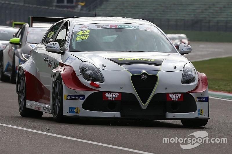 Luigi Ferrara, Alfa Romeo Giulietta TCR, 42 Racing SA a Imola - Tutto Foto