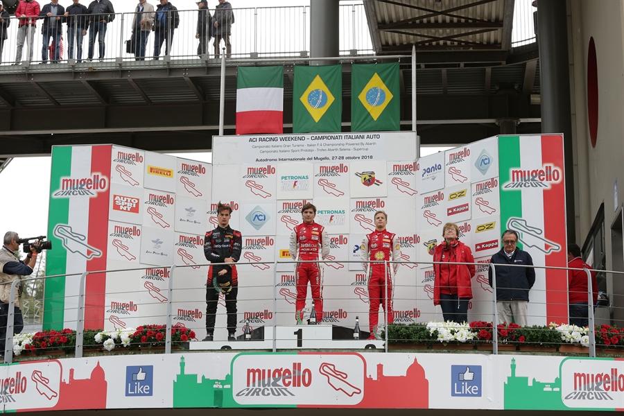 podio f4